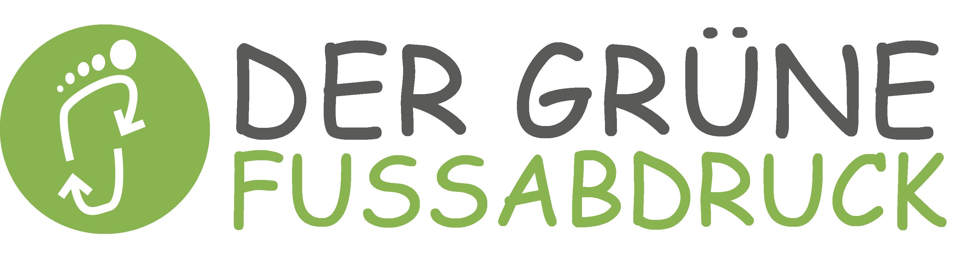 Der grüne Fußabdruck Logo